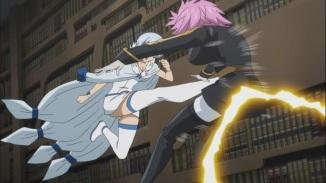 Yukino kicks Virgo