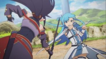 Yuuki vs Asuna
