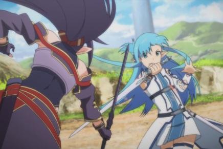 Asuna meets Zekken – Sword Art Online II 19(Thoughts)