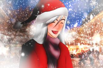 Christmas Market Ukitake by MisterMadam