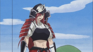 Erza Samurai Armor