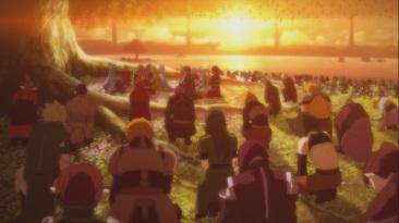 Everyone says goodbye to Yuuki