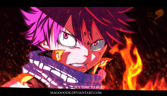 Fairy Tail 413 Natsu by magooode