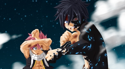 Gray's Demon Bow! Natsu Gray vs Mard Geer – Fairy Tail 411