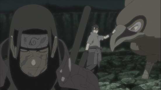 Hashirama and Sasuke talk