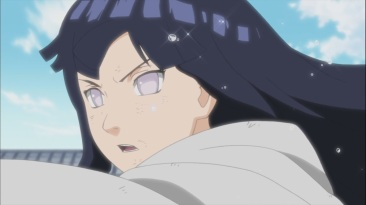 Hinata trains hard