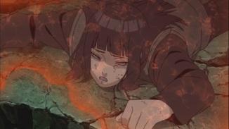 Hinata upset for dying Naruto