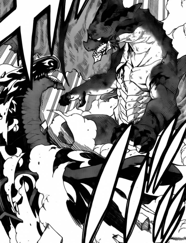 Igneel vs Acnologia Battle