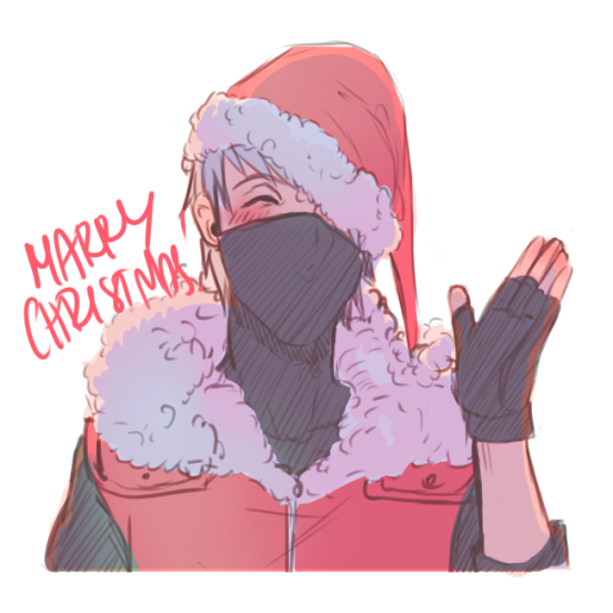 Kakashi Christmas by chaoticrabbit