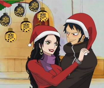 Law and Keira One Piece Christmas by KeiraDulacre