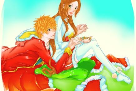 Merry Christmas – Ichigo andOrihime