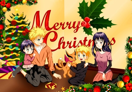 Naruto Christmas by malami95