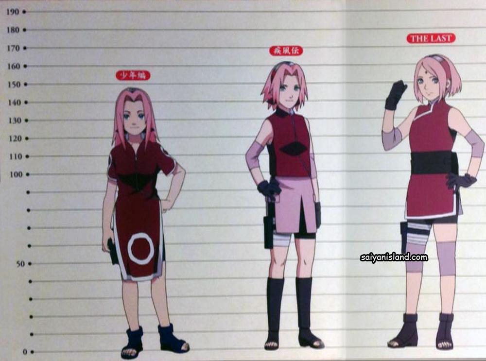 Character Growth in the Naruto World (Part 1, Shippuden ... Gaara And Naruto Kids
