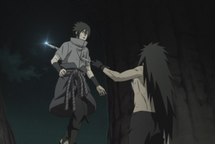 Naruto and Sasuke Dying!? Madara's World – Naruto Shippuden 393