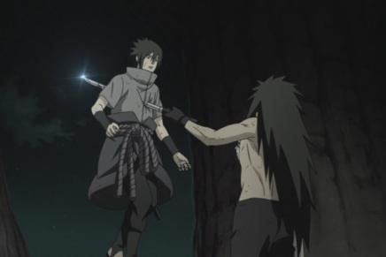 Naruto and Sasuke Dying!? Madara's World – Naruto Shippuden393