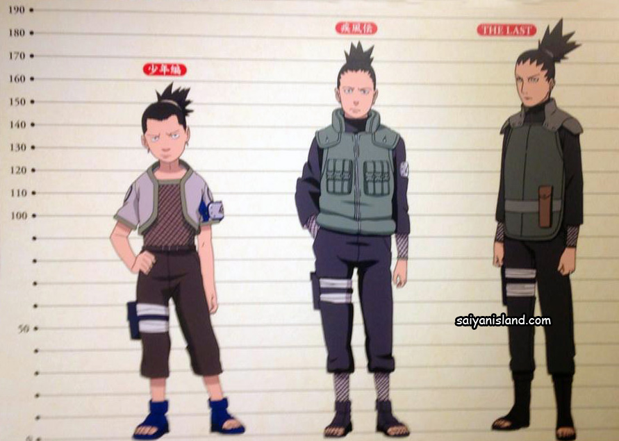 Shikamaru Growth