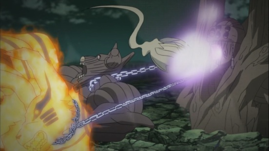 Tailed Beasts into Gedo Mazo