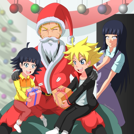 Uzumaki Christmas by bacodamondo