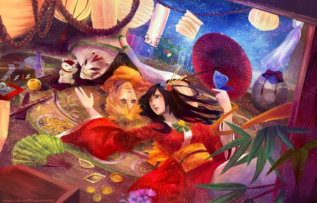 Wishful Dreams Naruto and Hinata by Arlequinne