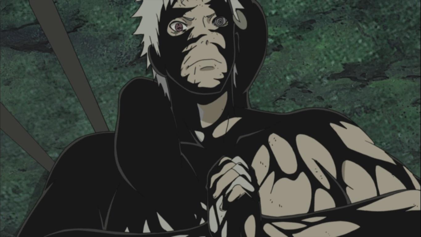 Sasuke awakens Mangekyou Sharingan