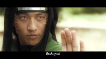 Byakugan Neji real life