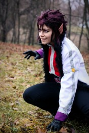 Cobra Cosplay Fairy Tail by grimmiko88