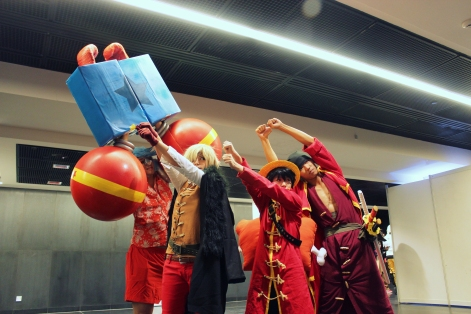 Cosplay Film Z Luffy and others by jlrave