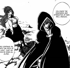 Erza and Jellal on moving on