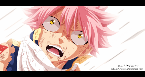 Fairy Tail 414 Natsu on Igneel's Death by khalilxpirate