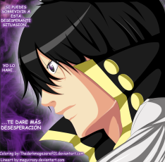 Fairy Tail 414 Zeref Despair by thedarkmagezeref01