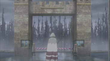 Kakashi goes into the Rain Village
