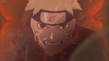 Naruto's Kurama Chakra
