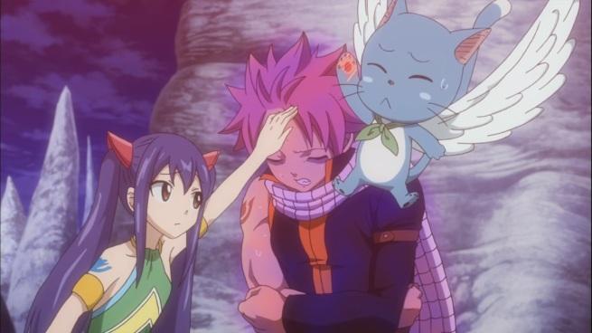 Natsu feels unwell