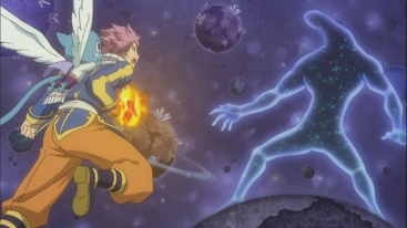 Natsu vs Celestial Spirit Beast