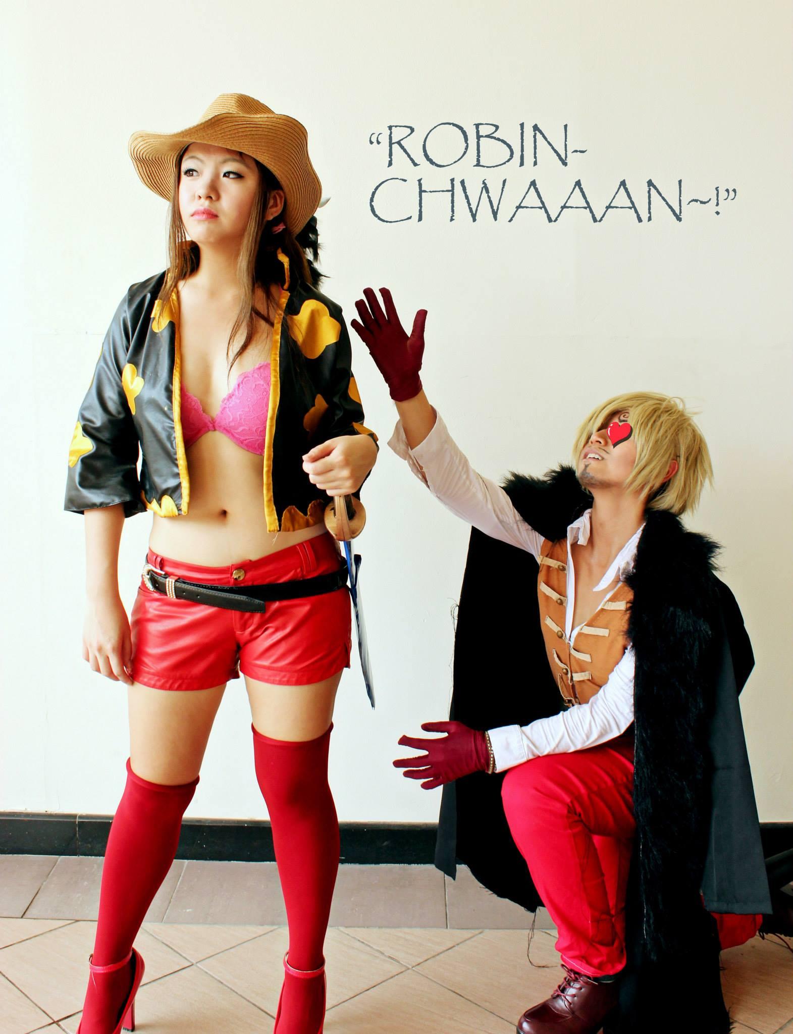 Nico Robin And Sanji One Piece Film Z By Jlrave Daily Anime Art