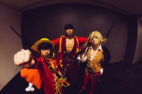 One Piece Trio Film Z by jlrave