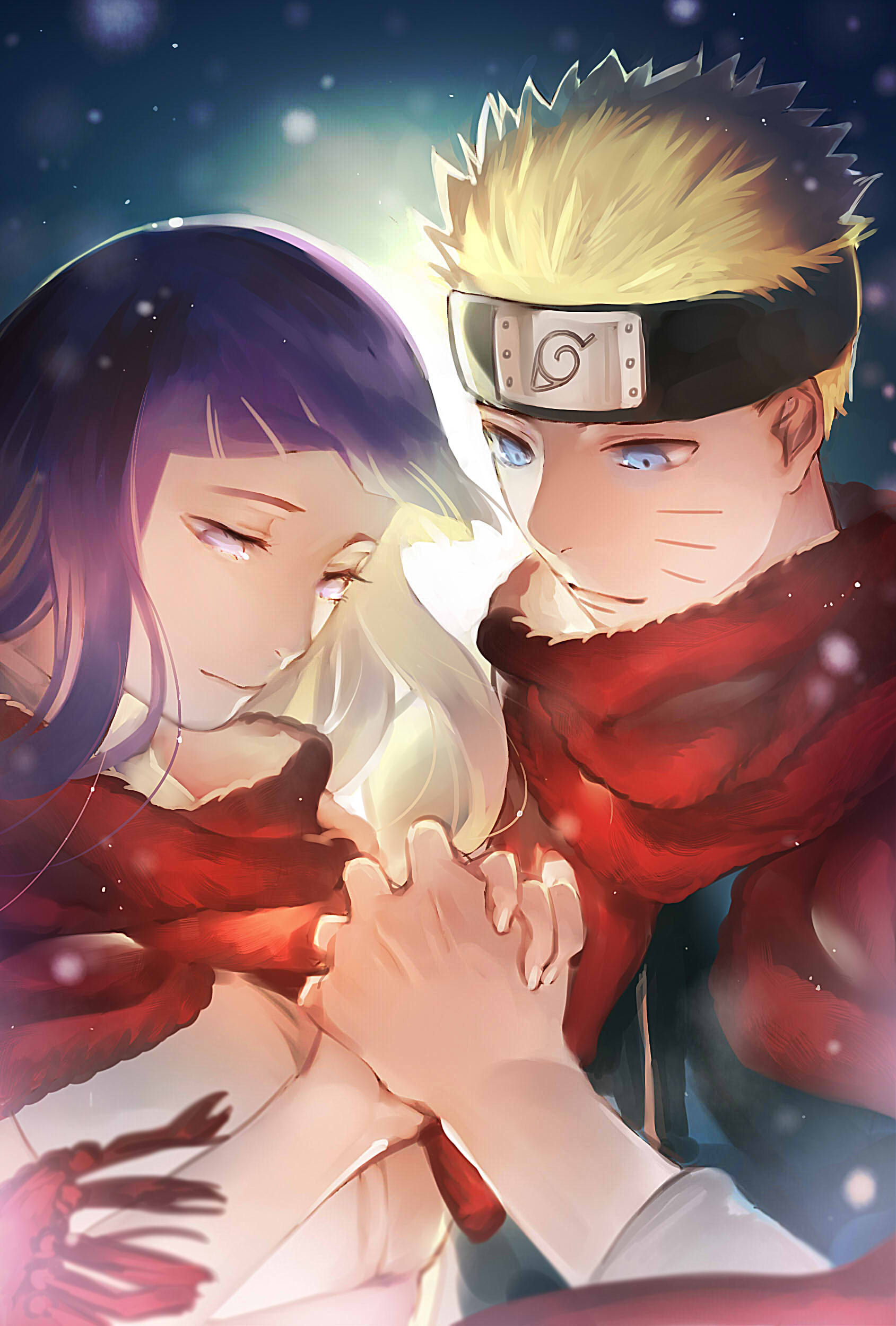 Red Thread Of Fate Naruto And Hinata By Noahxica