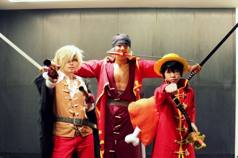 Sanji Zoro Luffy Film Z cosplay by jlrave