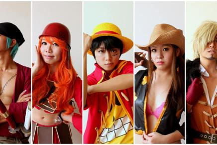 Cosplay: One Piece Straw Hat Crew in Film Z