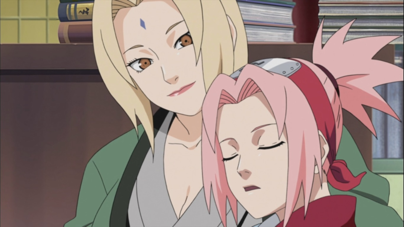 Tsunade impressed by Sakura  Daily Anime Art