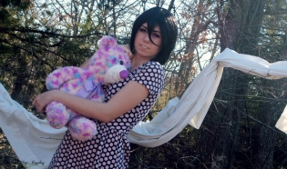Cosplay Rukia Valentines Day by HatnClogsProductions