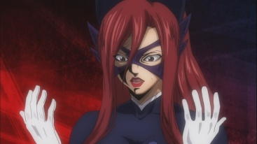 Erza transforms into real Erza