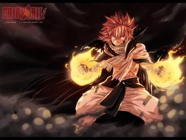 Fairy Tail 418 Natsu Fired Up by i-azu