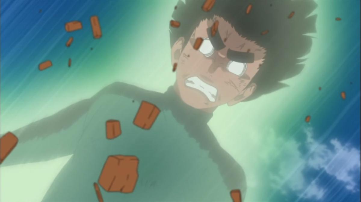 Rock Lee vs Shira! Fuu The Jinchuuriki – Naruto Shippuden ...