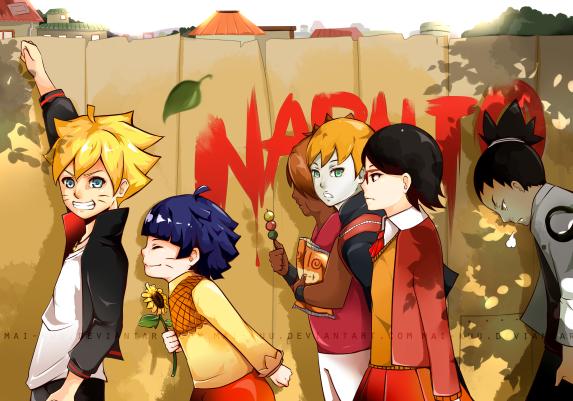 Naruto The Next Generation by mai-kuu
