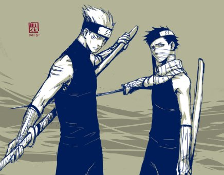 Young Shinobi's – Kisame and Zabuza