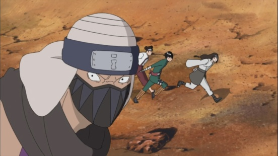 Neji finds enemy