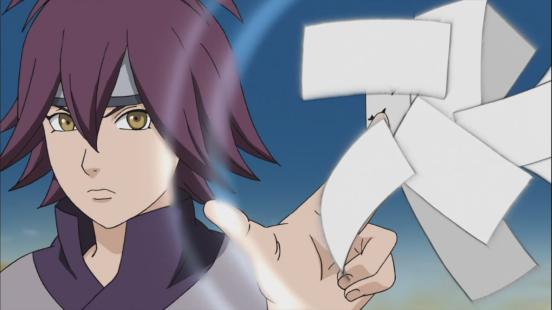 Ajisai uses paper technique