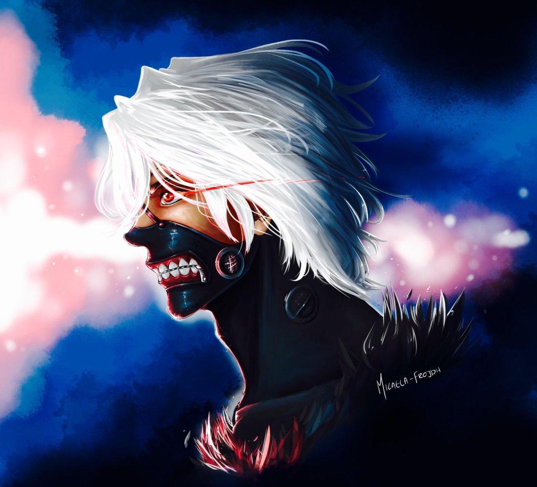 Kaneki Ken Tokyo Ghoul by Micaela Frojdh