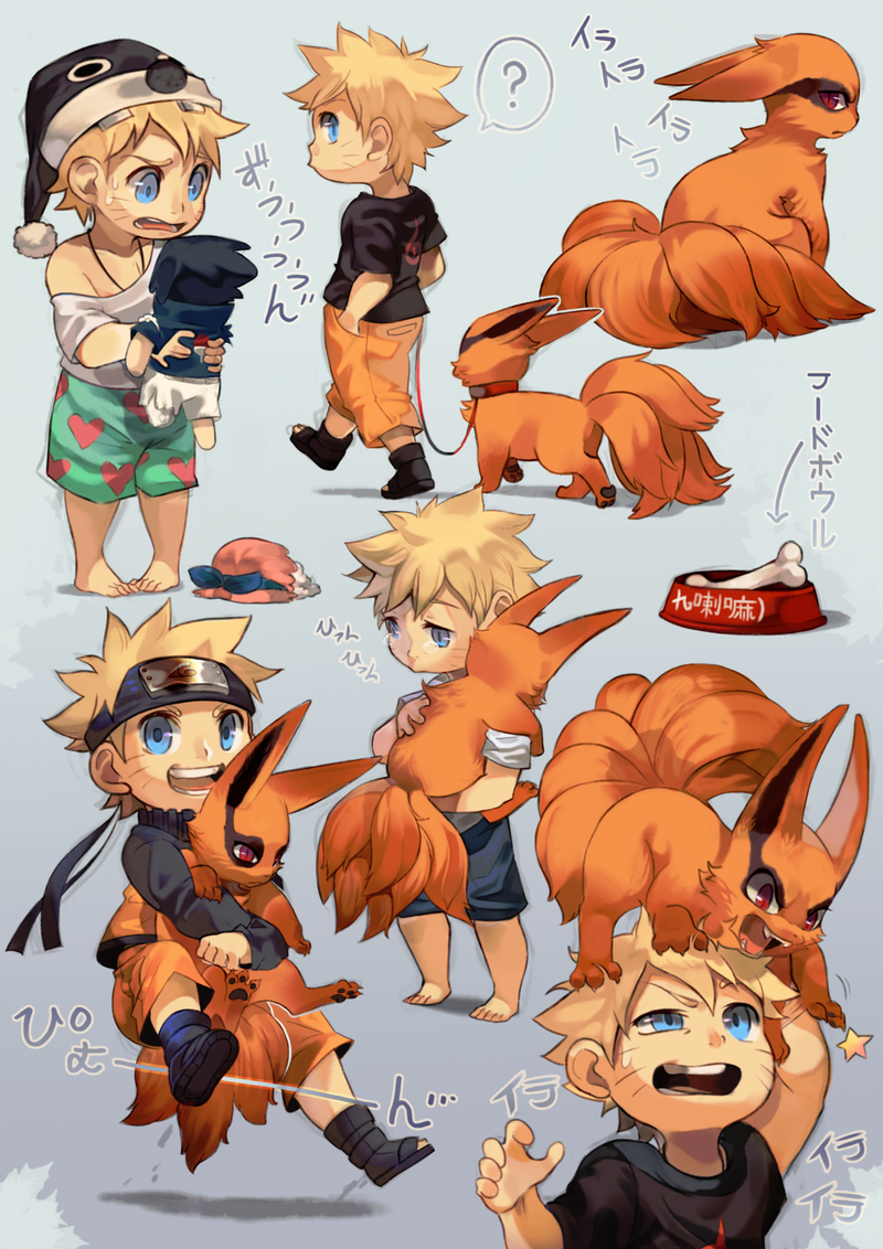 Naruto and Kurama Shinobi and His Fox by Uzucake